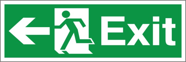 image relating to Printable Exit Signs referred to as Exit Signs and symptoms : Fireplace Metropolis