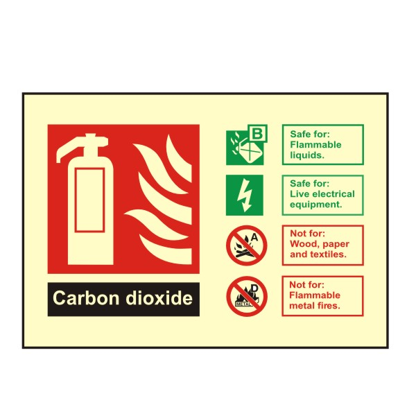 Co2 ID Landscape Signs 100mm x 150mm